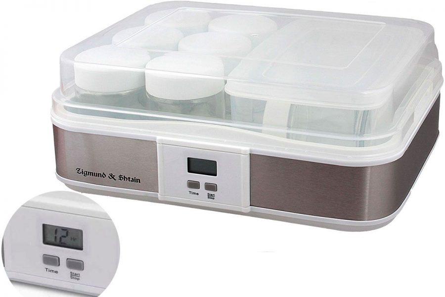 Качественная йогуртница с электронным управлением Zigmund & Shtain YM-216DB