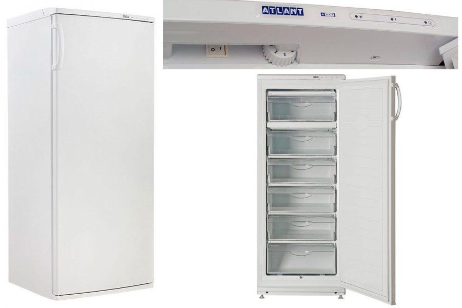 Лучший капельный морозильный шкаф ATLANT М 7184-003