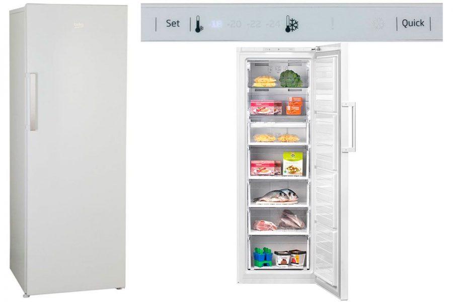 Лучший морозильный шкаф BEKO RFNK 290T21 W