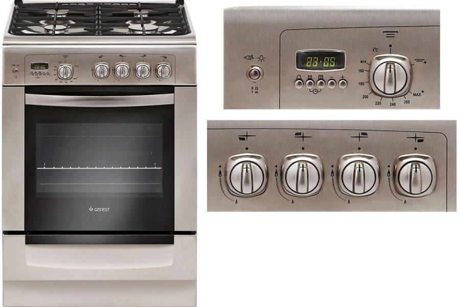хорошая газовая плита с газовой духовкой GEFEST 6100-04