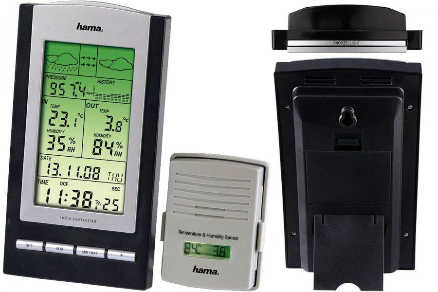Лучшая бытовая цифровая метеостанция HAMA EWS-800