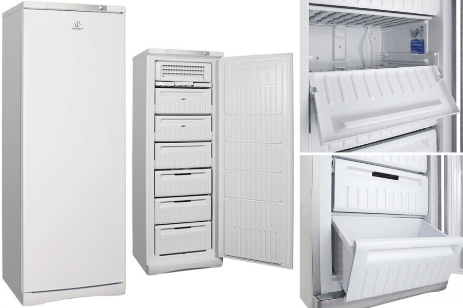 Бюджетный качественный но-фрост морозильный шкаф Indesit SFR 167 NF
