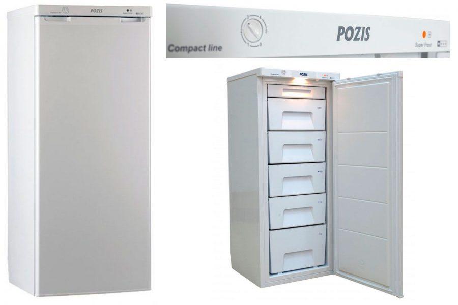 Хороший капельный морозильный шкаф Pozis FV-115 W