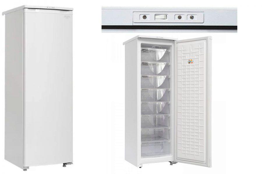 Бюджетный хороший капельный морозильный шкаф Саратов 170 (МКШ-180)