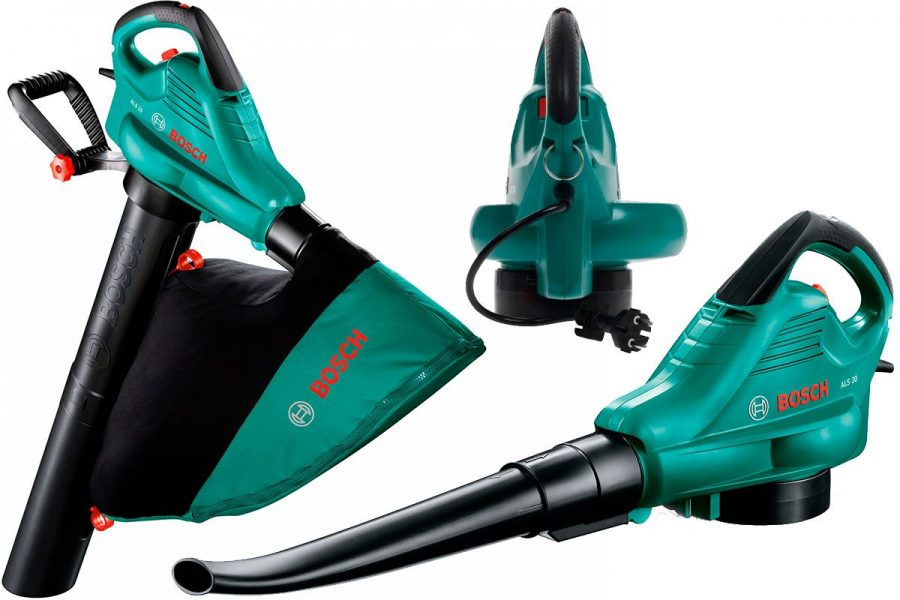 Лучший садовый пылесос-воздуходувка Bosch ALS 30