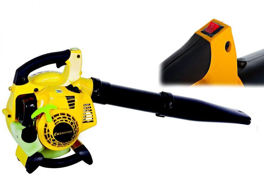 Бюджетная садовая воздуходувка-пылесос CHAMPION GB226