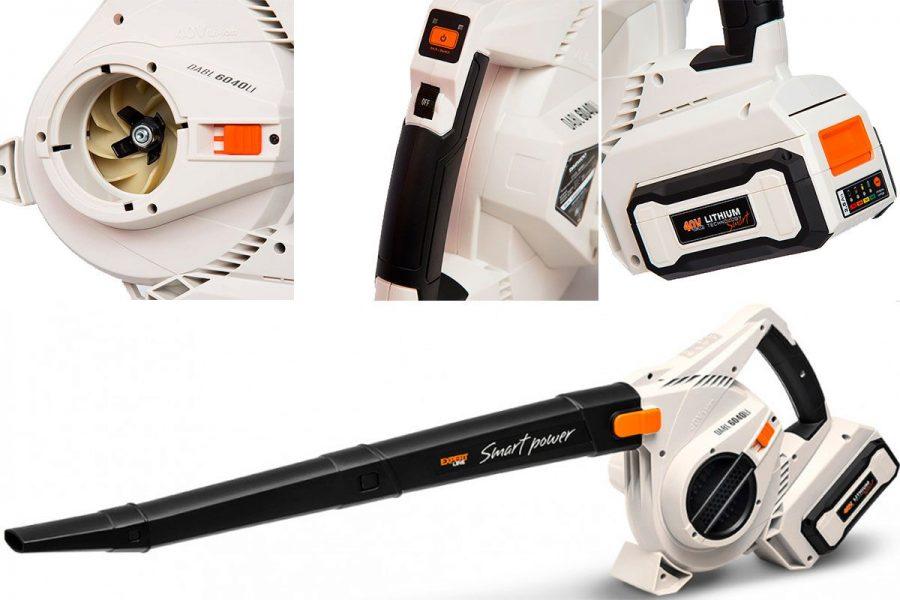бюджетная аккумуляторная садовая воздуходувка-пылесос Daewoo DABL 6040Li
