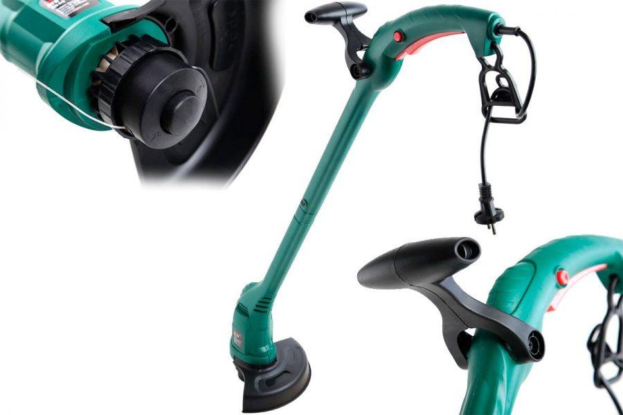 Бюджетный электрический садовый триммер (мотокоса) Hammer ETR300