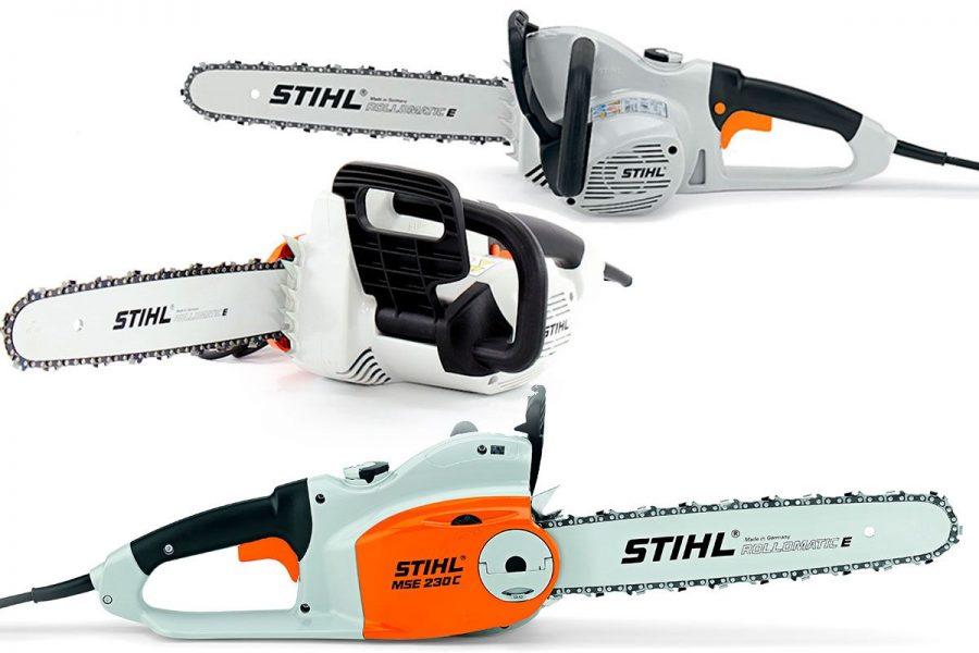 Лучшая цепная электрическая пила STIHL MSE 230 C-BQ