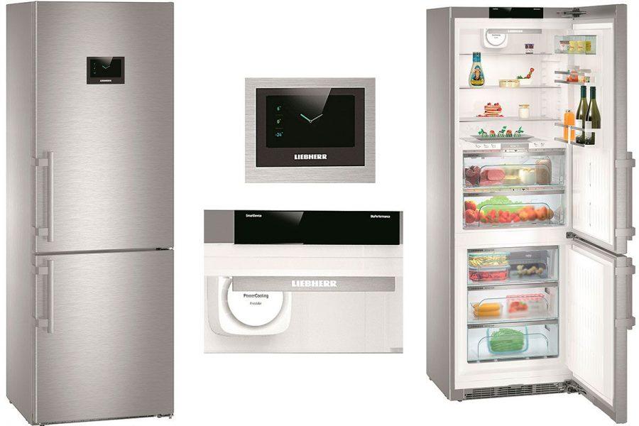 Холодильник Liebherr с сухой заморозкой CBNPes-5758