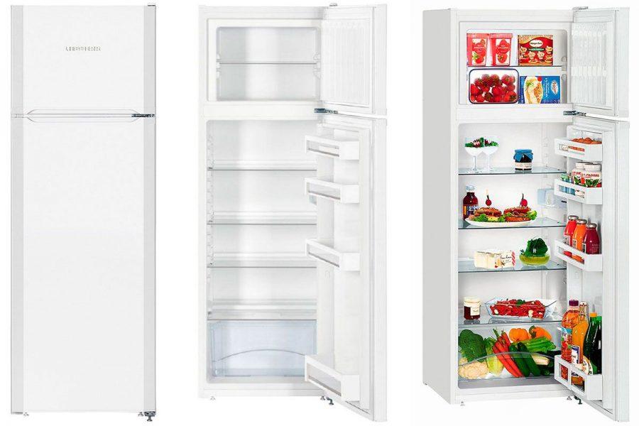 Капельный холодильник Liebherr CT 2931 с верхней морозилкой
