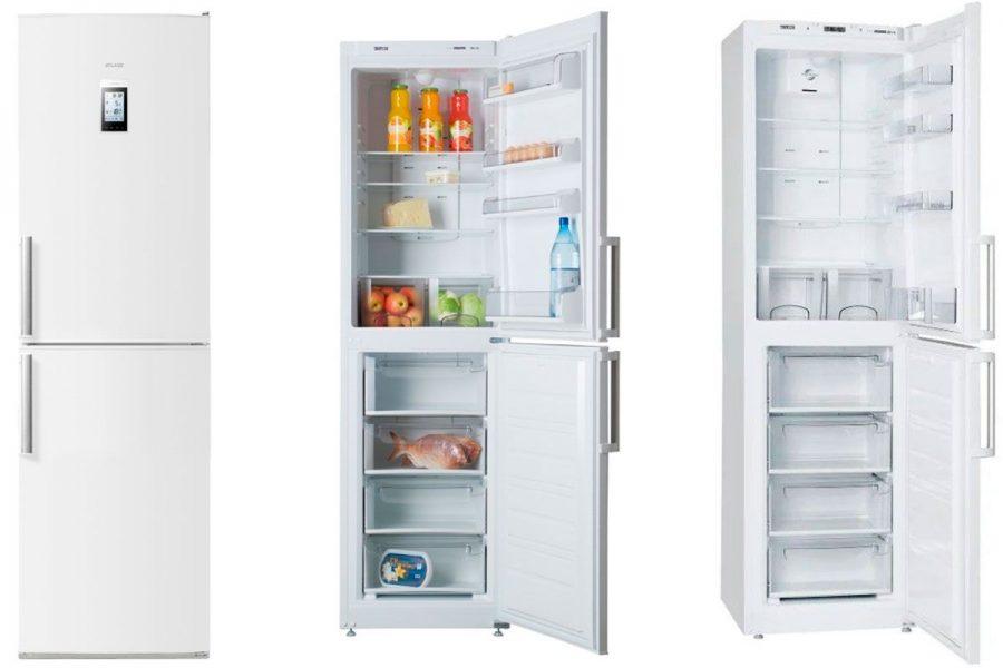 Холодильники Atlant с нижней морозилкой
