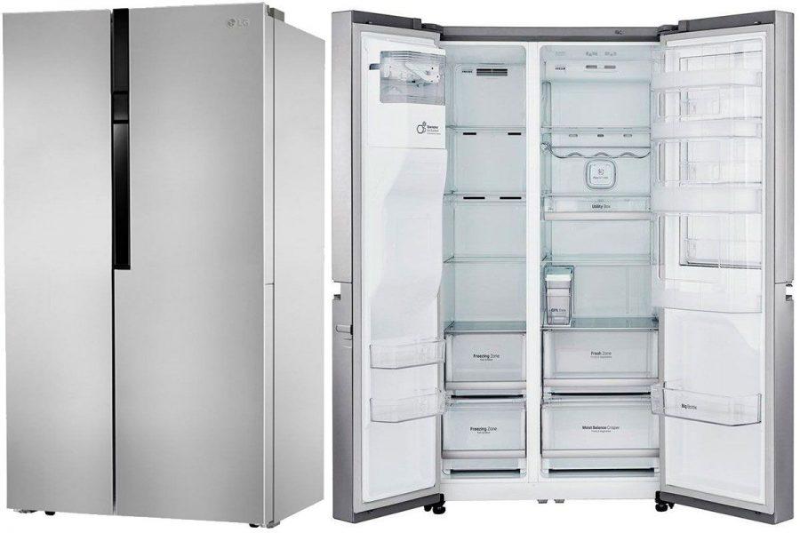 Двухкамерные холодильники Side-by-Side LG GC-B247 JMUV