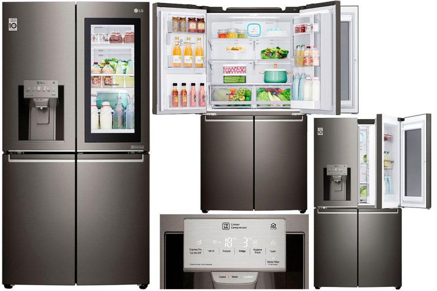 Многокамерный холодильник LG GR-X 24 FTKSB