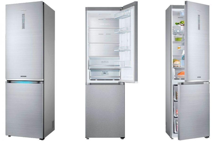 2-камерный холодильник Samsung RB41J7857S4/WT с нижней морозилкой