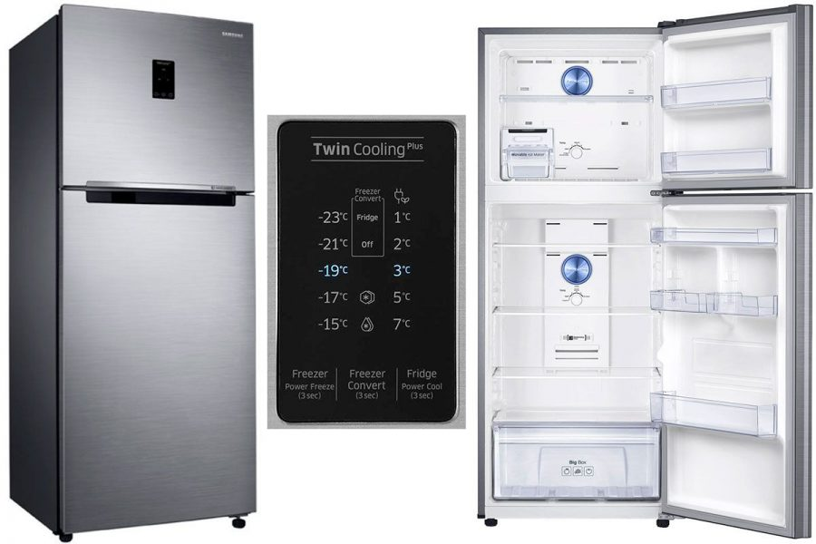 2-камерный холодильник Samsung RT35K5440S8/WT с верхней морозилкой