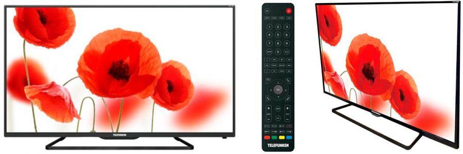 Телевизоры Telefunken с разрешением 4K
