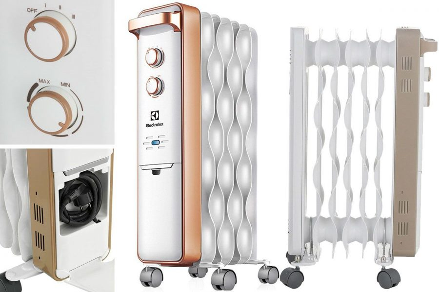 высококачественный масляный радиатор Electrolux EOH/M-9157