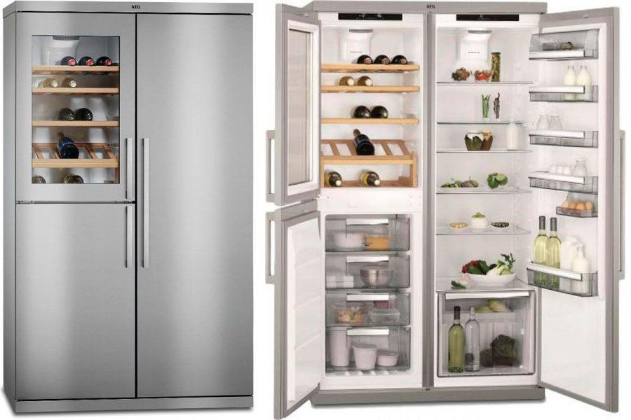 Холодильники AEG Side-by-Side