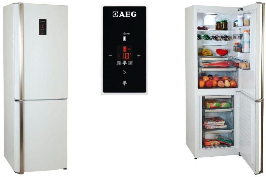 Стандартные (капельные) холодильники AEG