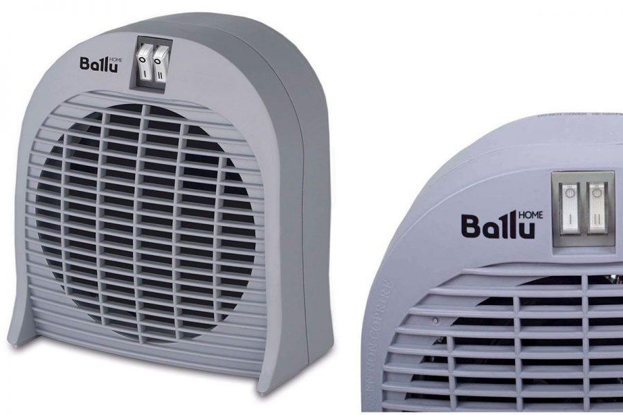 Хороший спиральный настольный тепловентилятор Ballu BFH/S-04