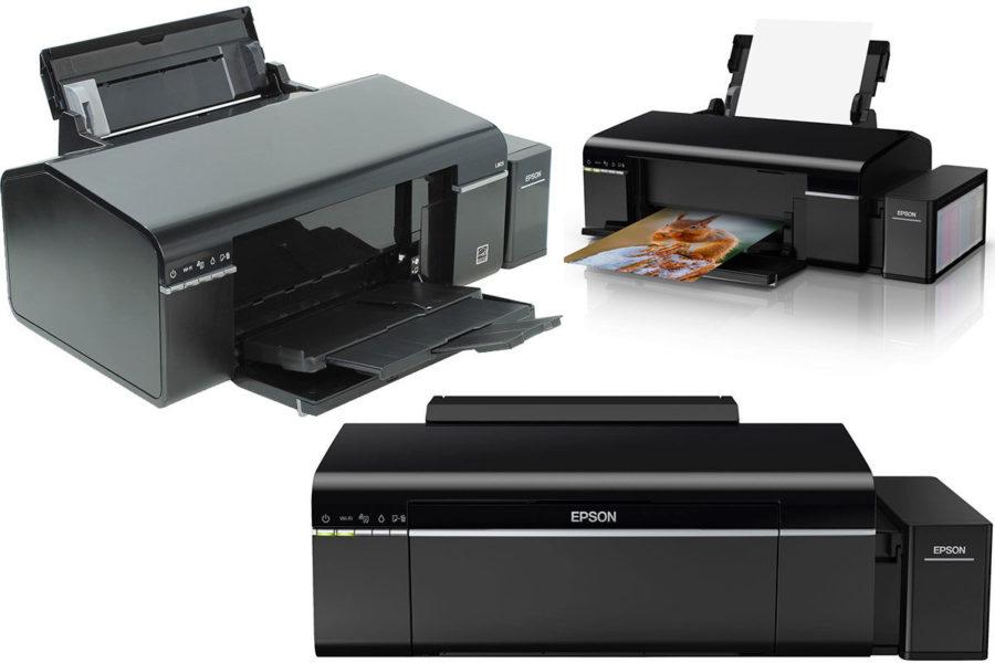Хороший домашний струйный принтер Epson L805