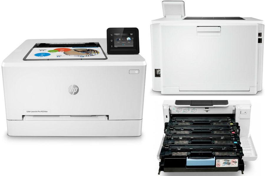 Хороший домашний лазерный цветной принтер HP Color LaserJet Pro M254dw