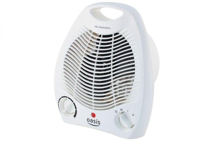 Дешевый спиральный тепловентилятор Oasis SB-20R