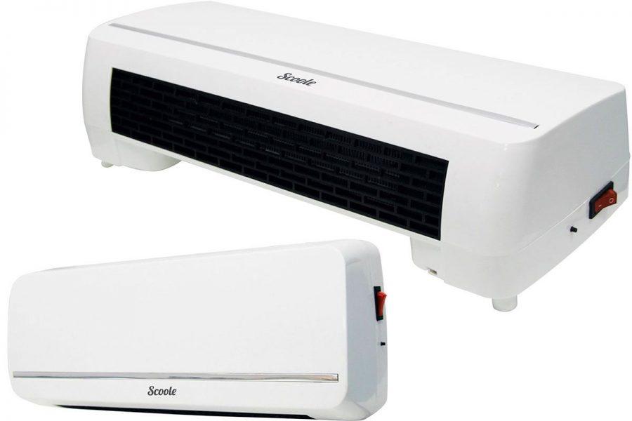 Недорогой настенный тепловентилятор Scoole SC FH MC 20 04