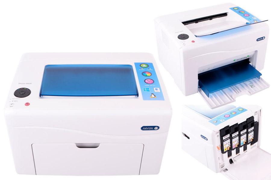 Хороший домашний лазерный цветной принтер Xerox Phaser 6020