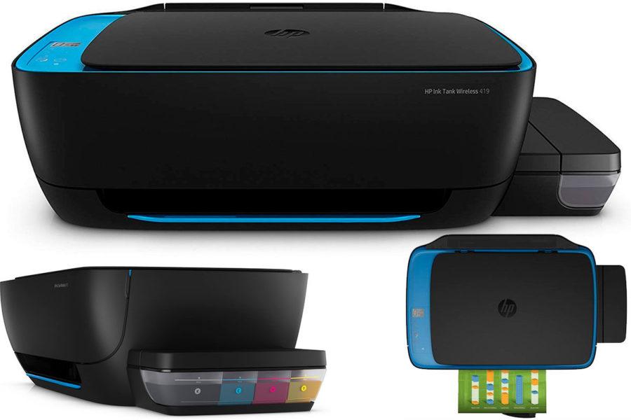 Лучший фото-МФУ-принтер для дома с СНПЧ HP Ink Tank Wireless 419