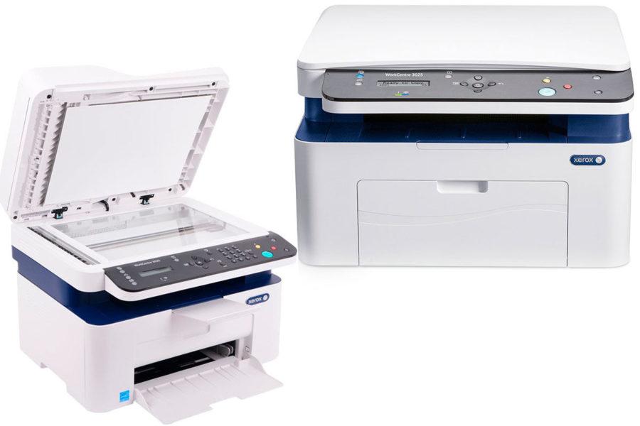 Отличный лазерный МФУ для дома МФУ Xerox WorkCentre 3025BI