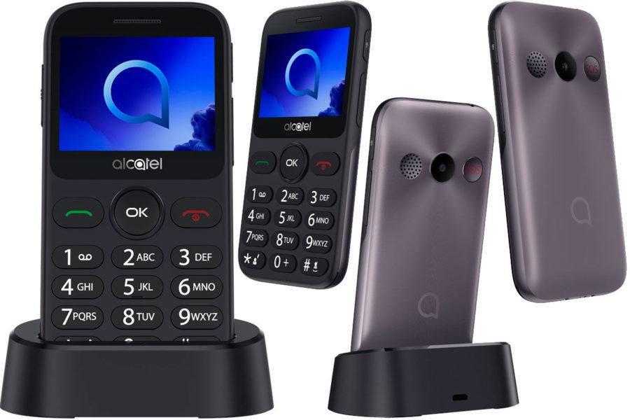 Телефон для пожилых Alcatel One Touch 2019G