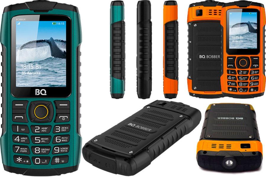 Хороший защищенный кнопочный телефон BQ 2439 Bobber