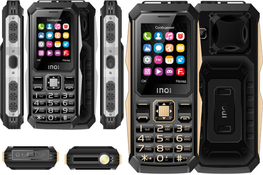 Хороший защищенный кнопочный телефон Inoi 246Z