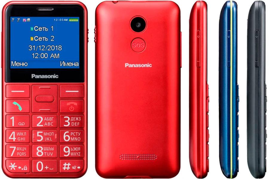 Телефон для пожилых Panasonic KX-TU150RU
