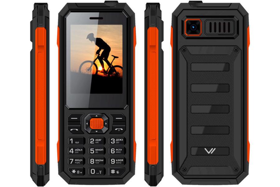Хороший защищенный кнопочный телефон VERTEX K208