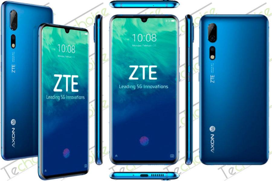 Мобильный телефон ZTE Axon 10s Pro 5G
